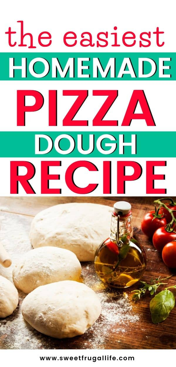 Homemade pizza dough recipe - make your own easy pizza