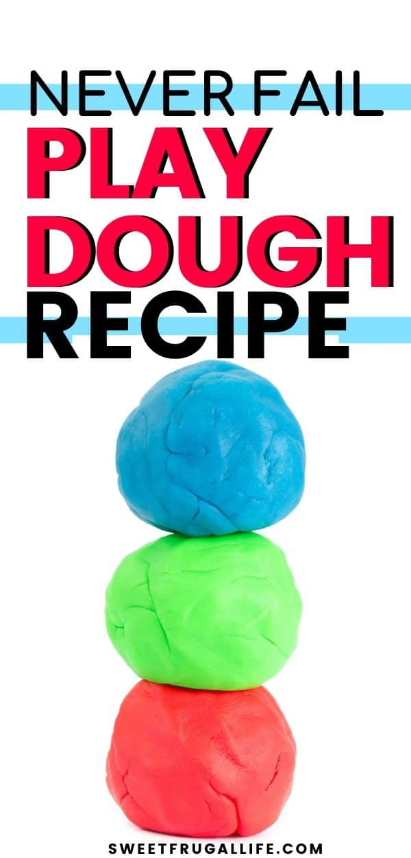 easy play dough recipe - fun indoor activity for kids
