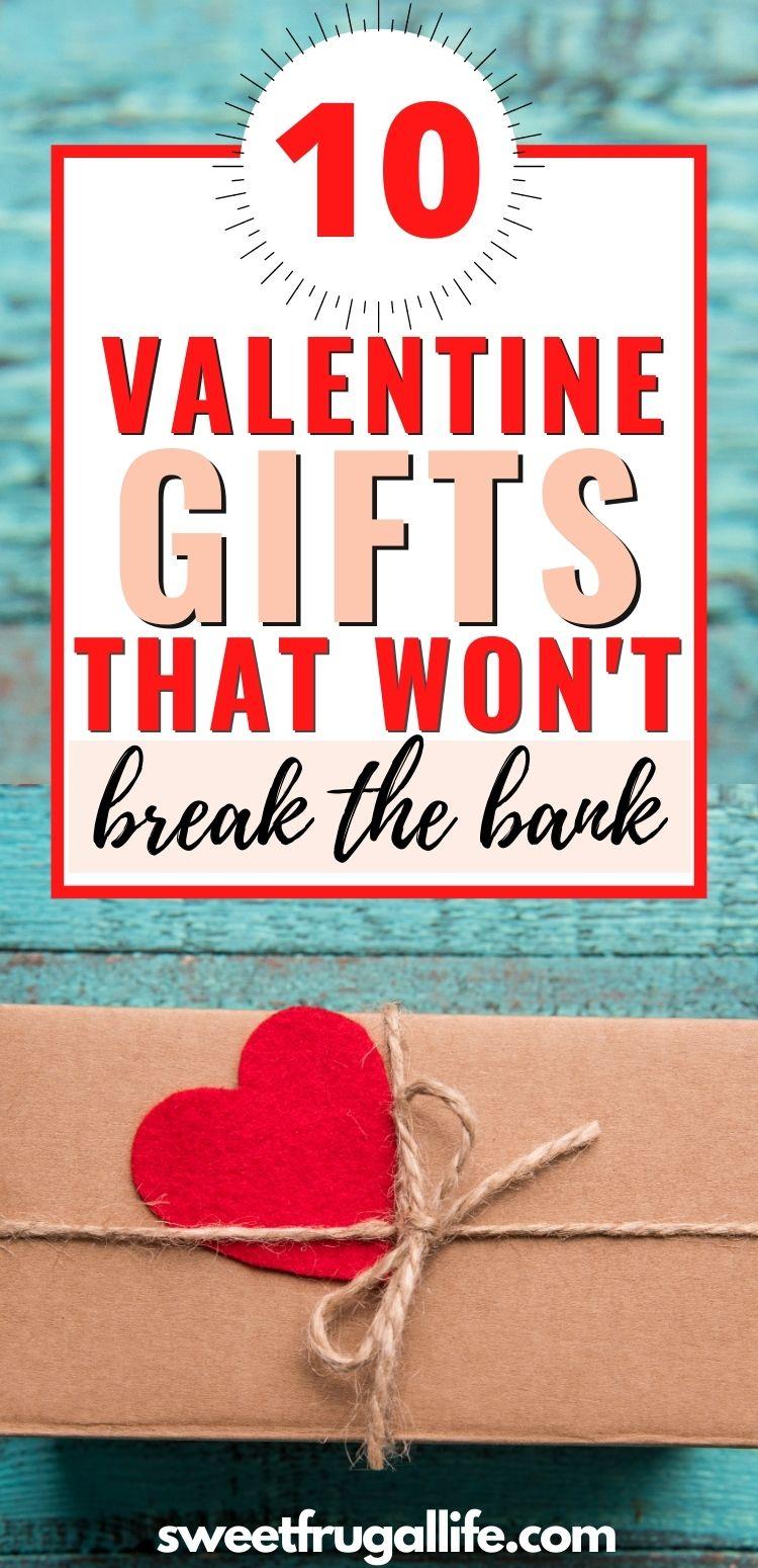 budget friendly valentine gift ideas - gift ideas for her under $10