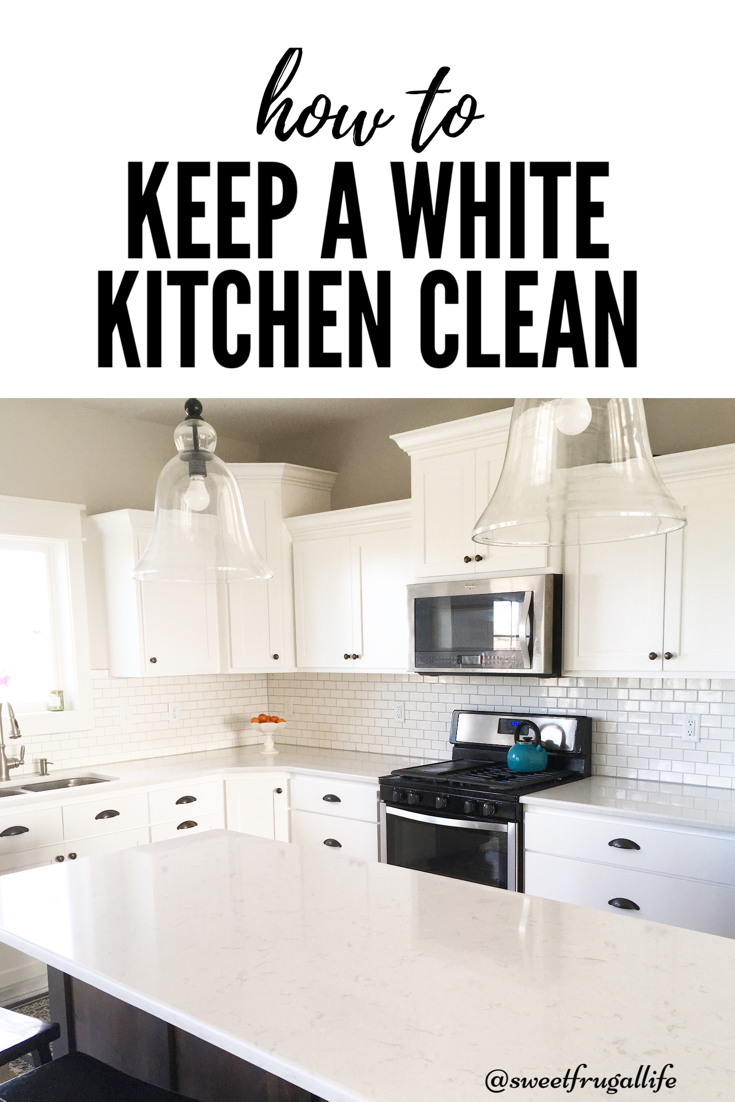 How To Keep White Kitchen Cabinets And My Honest
