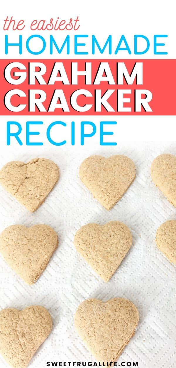 how to make graham crackers - easy graham cracker recipe