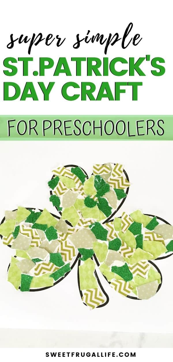 preschooler craft for st.patricks day