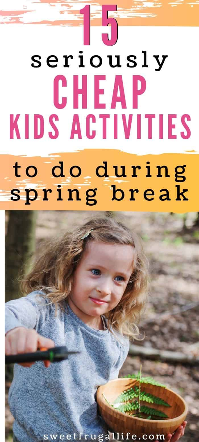 fun activities to do at home during spring break