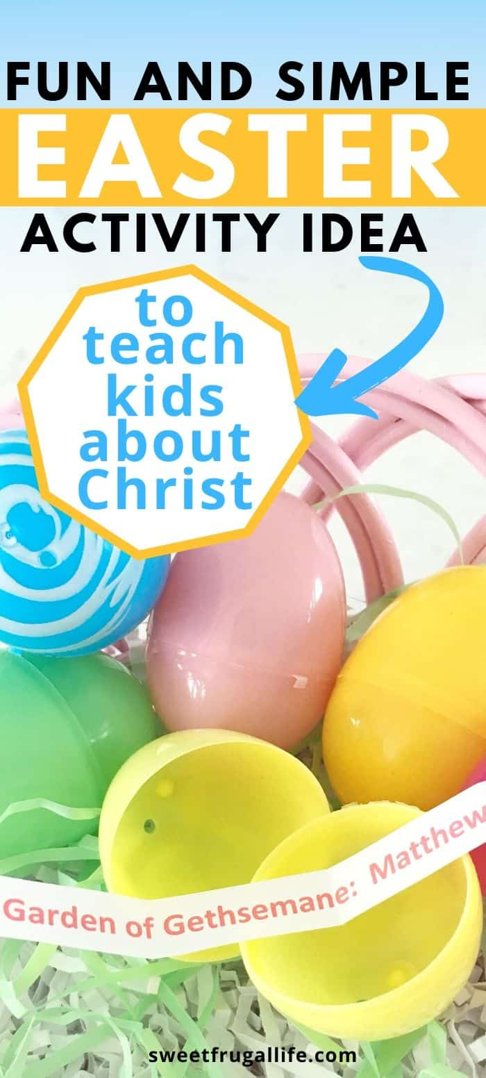 teach kids about christ this easter
