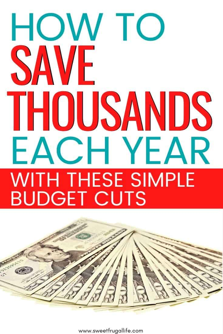 how to save more money each year - budgeting tips