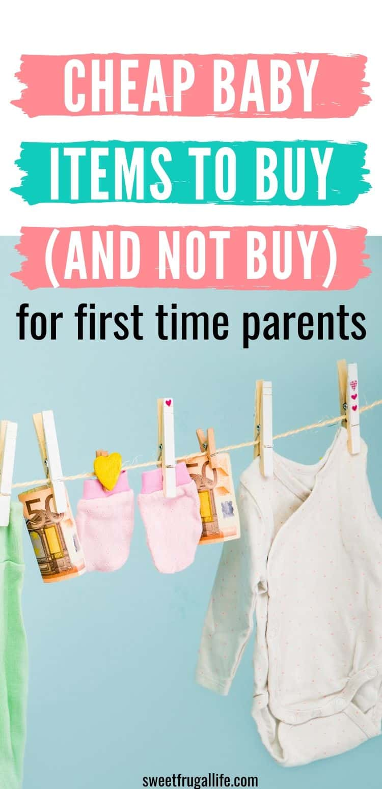 baby items to buy and not buy