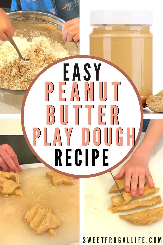 easy peanut butter play dough recipe