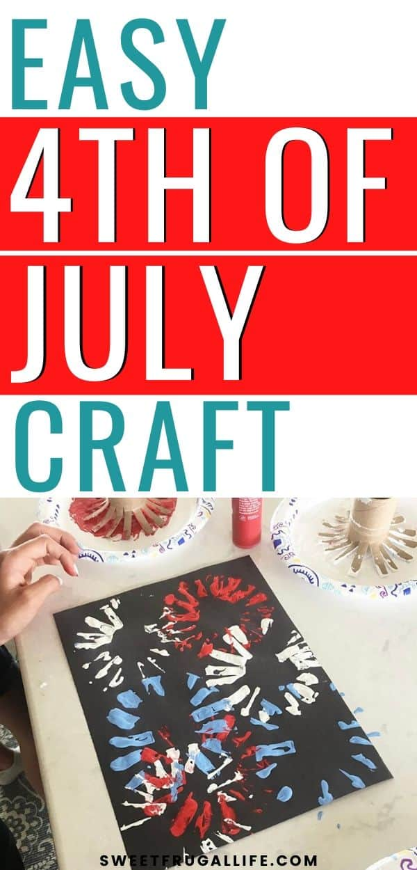 preschooler fourth of july craft idea