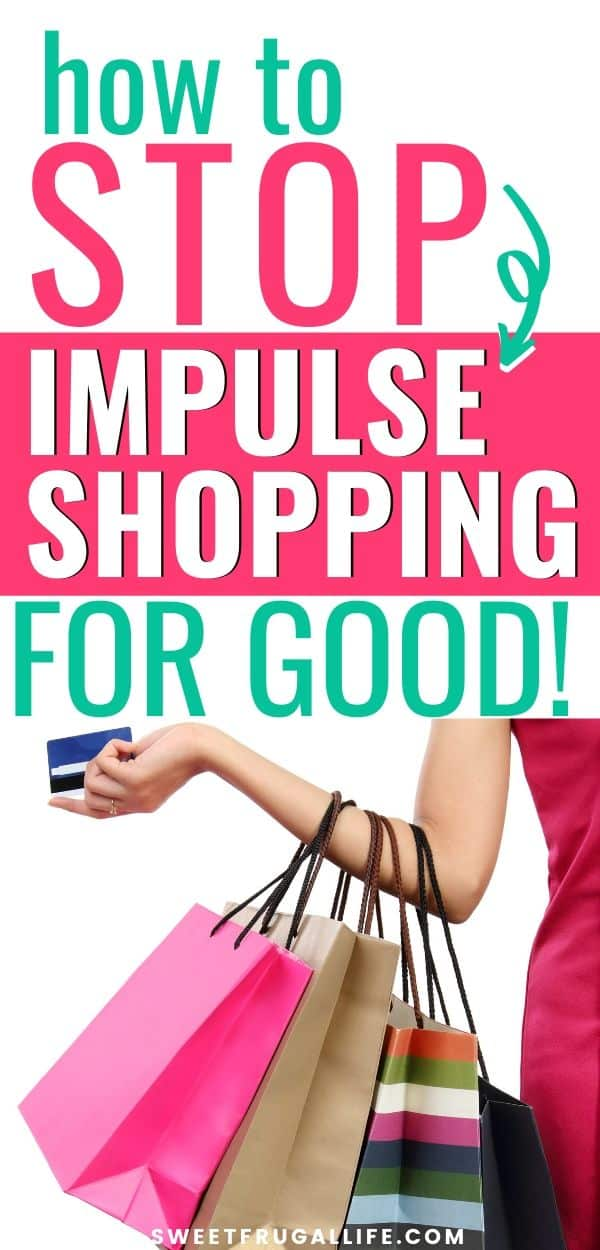 stop impulse shopping for good