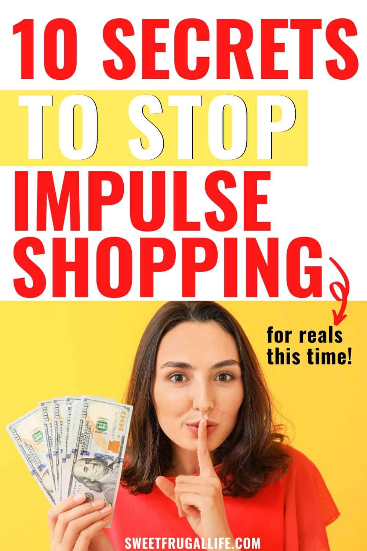 secrets to stop impulse buying