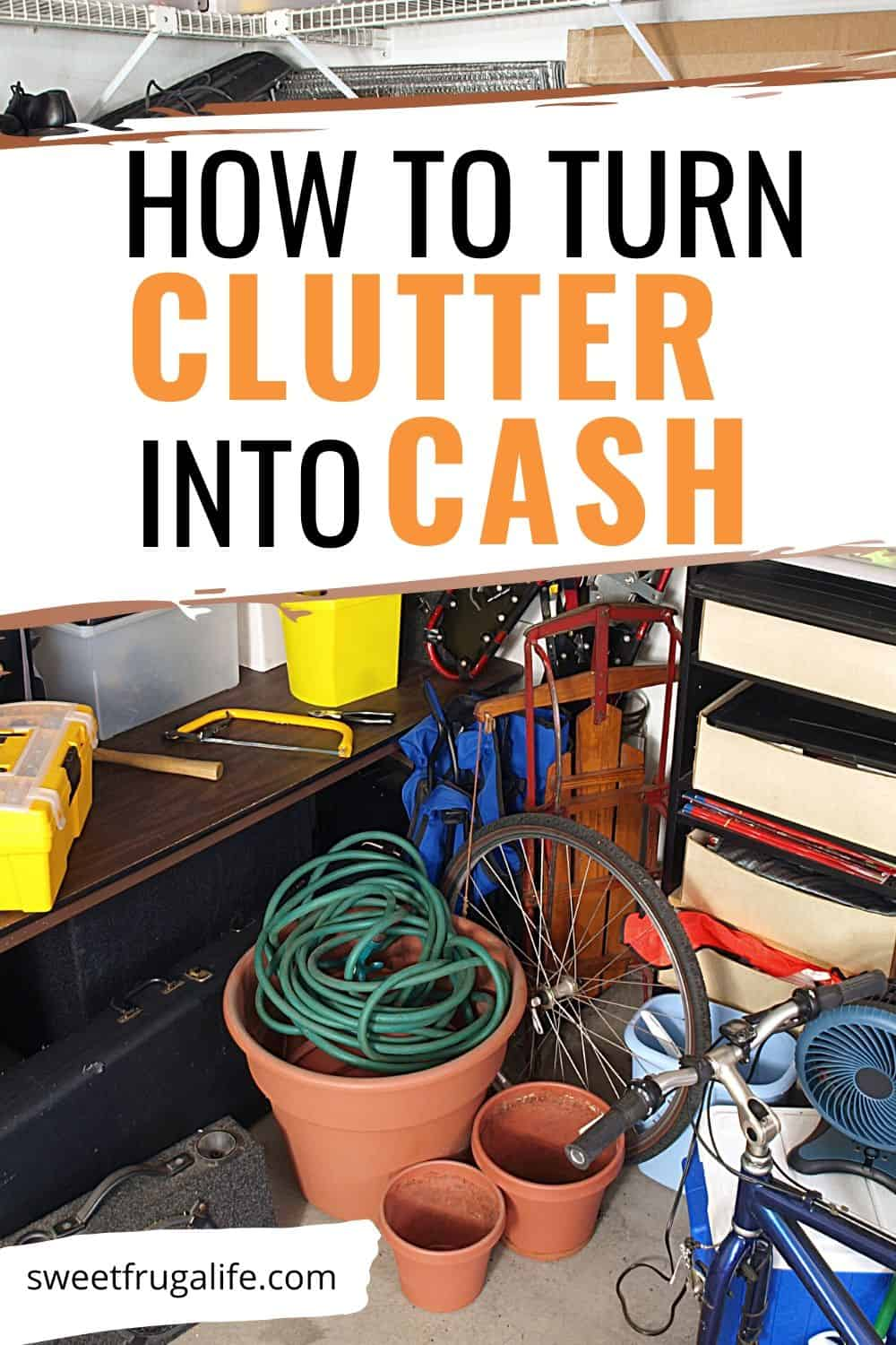 how to sell clutter to earn money - household items to sell