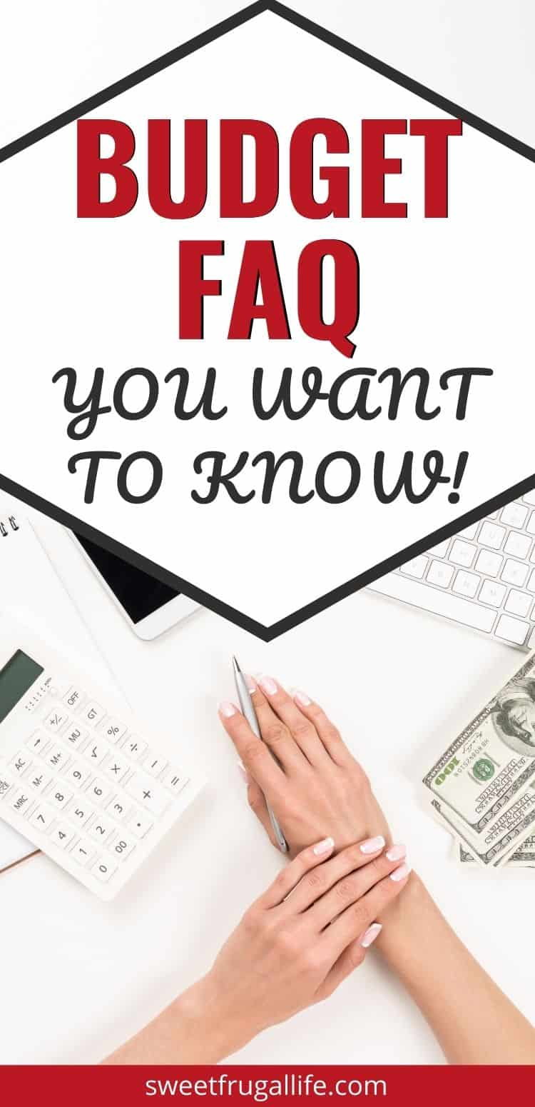 budgeting questions and answers