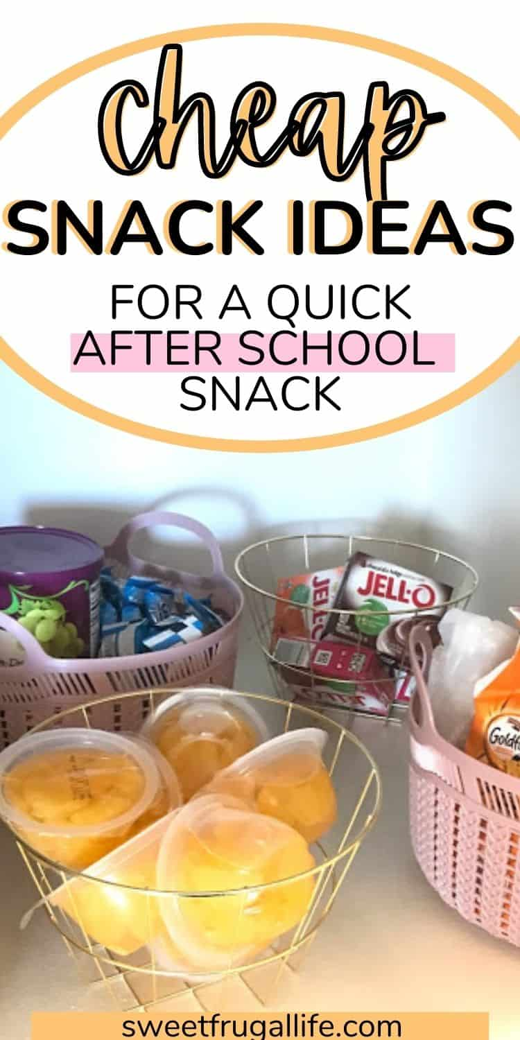 after school snack ideas - cheap snacks for kids
