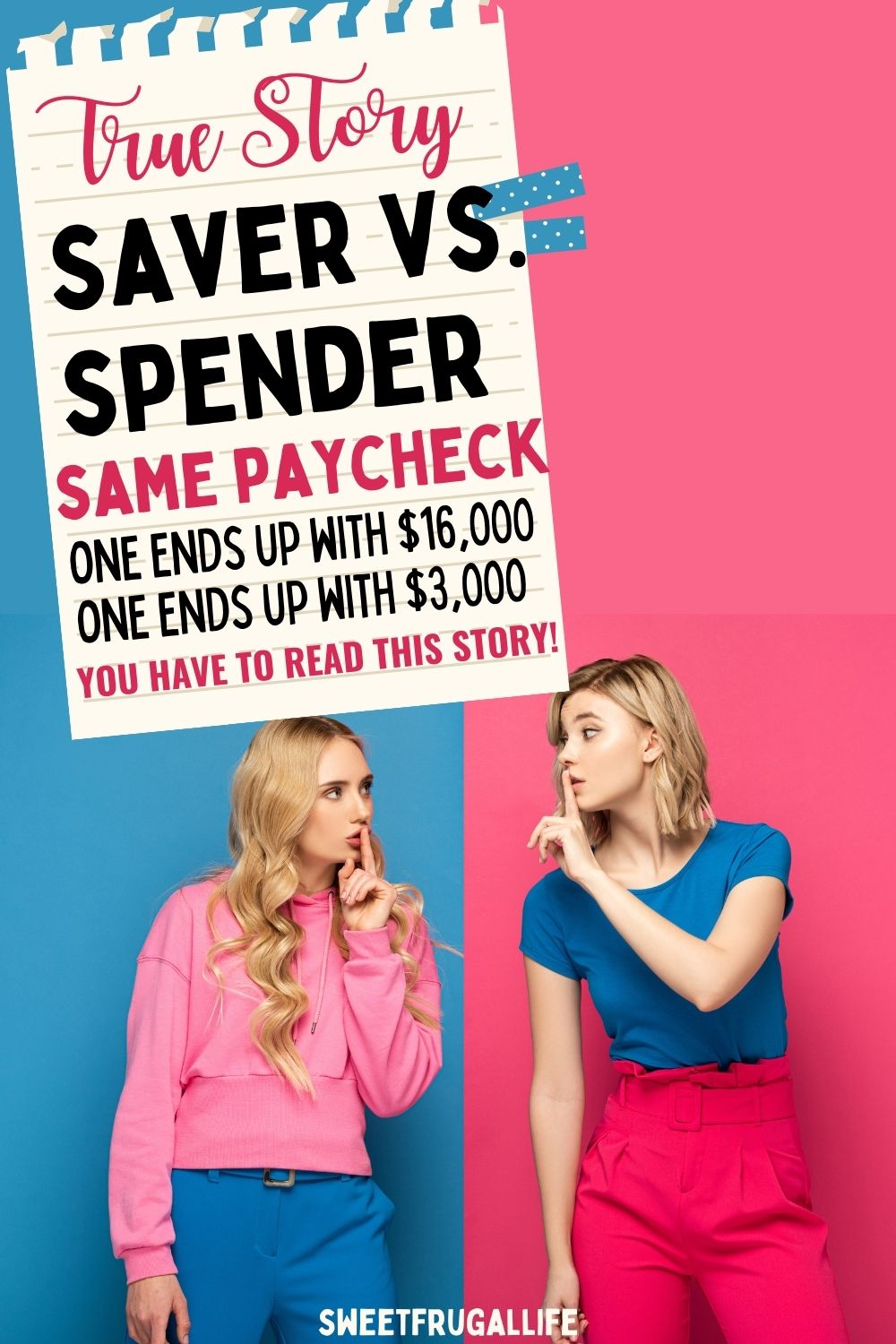saver v. spender - how to save more money