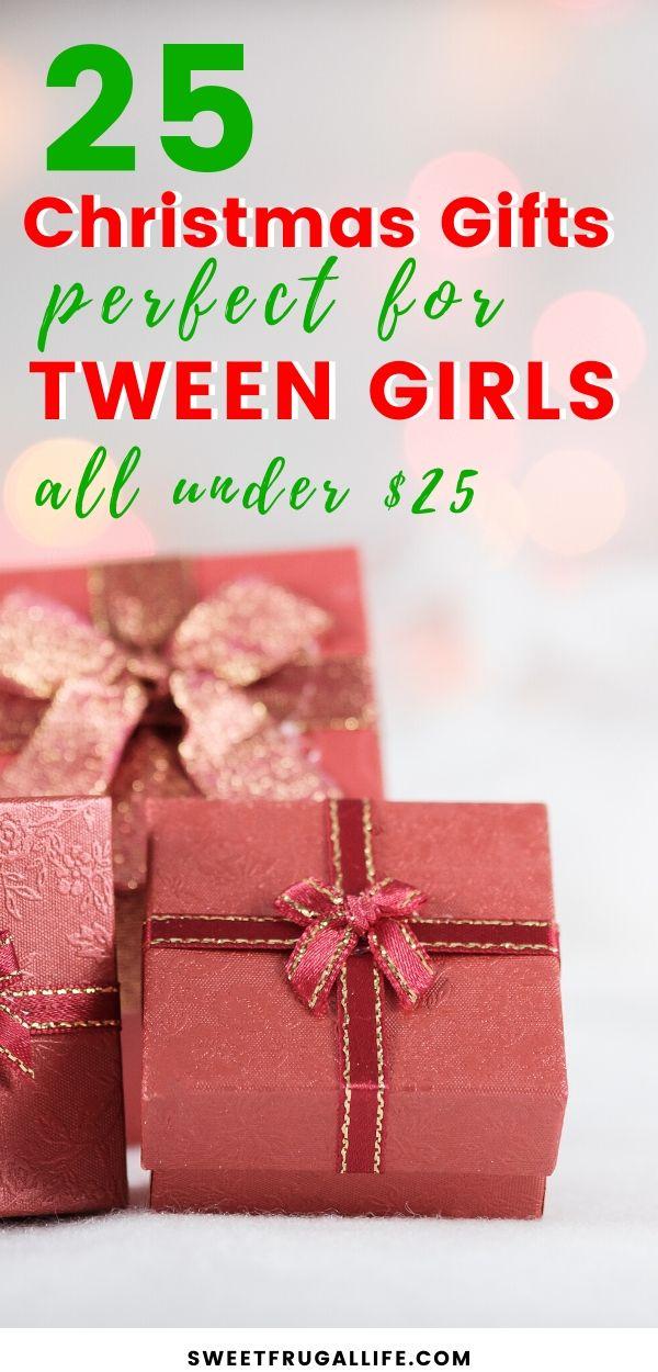 Cheap gift ideas for tween girls