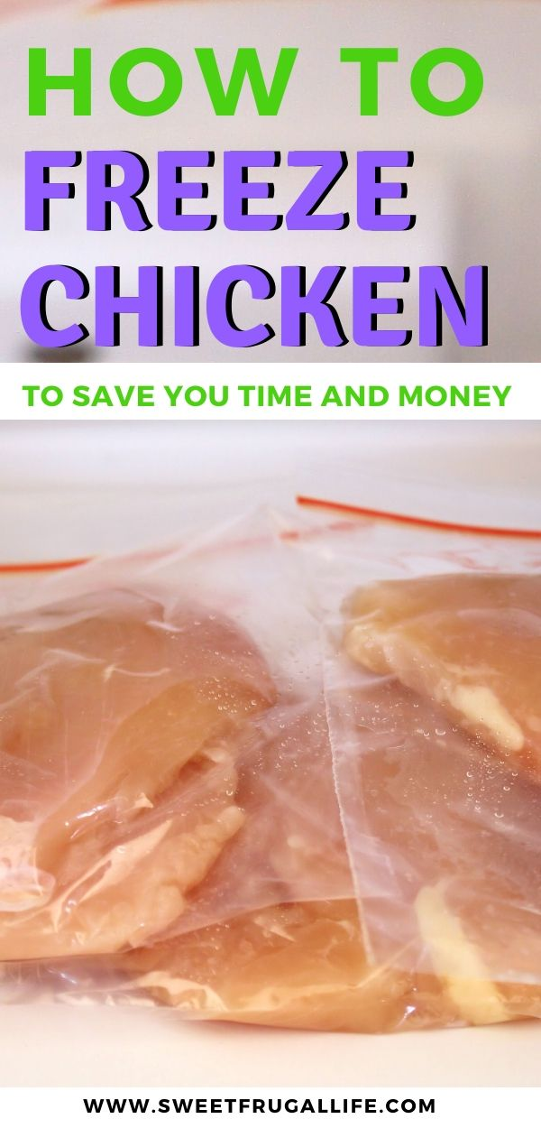 How to freeze chicken to save you time and money
