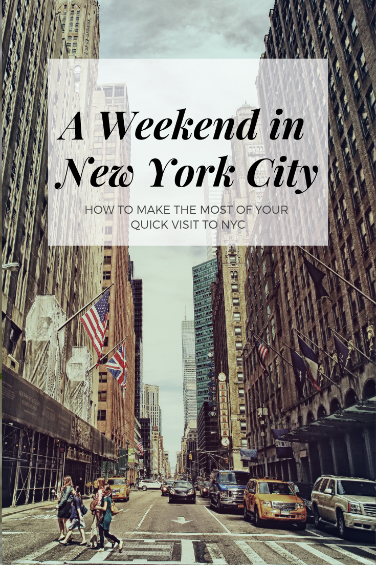 weekend in nyc