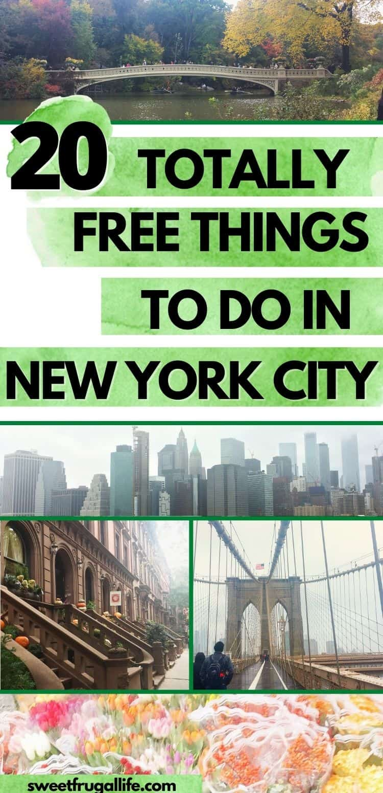 free things new york city - NYC activities for free
