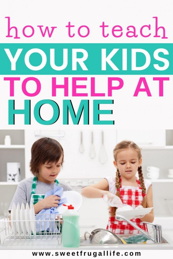 How to teach kids to help around the house. kids and chores | chore chart | free printable | get kids to work | teach kids to do chores | how to get kids to do chores | mom ideas | parenting hacks | get kids to do their chores #chores #parentinghacks #parenting #momlife #teachingkids