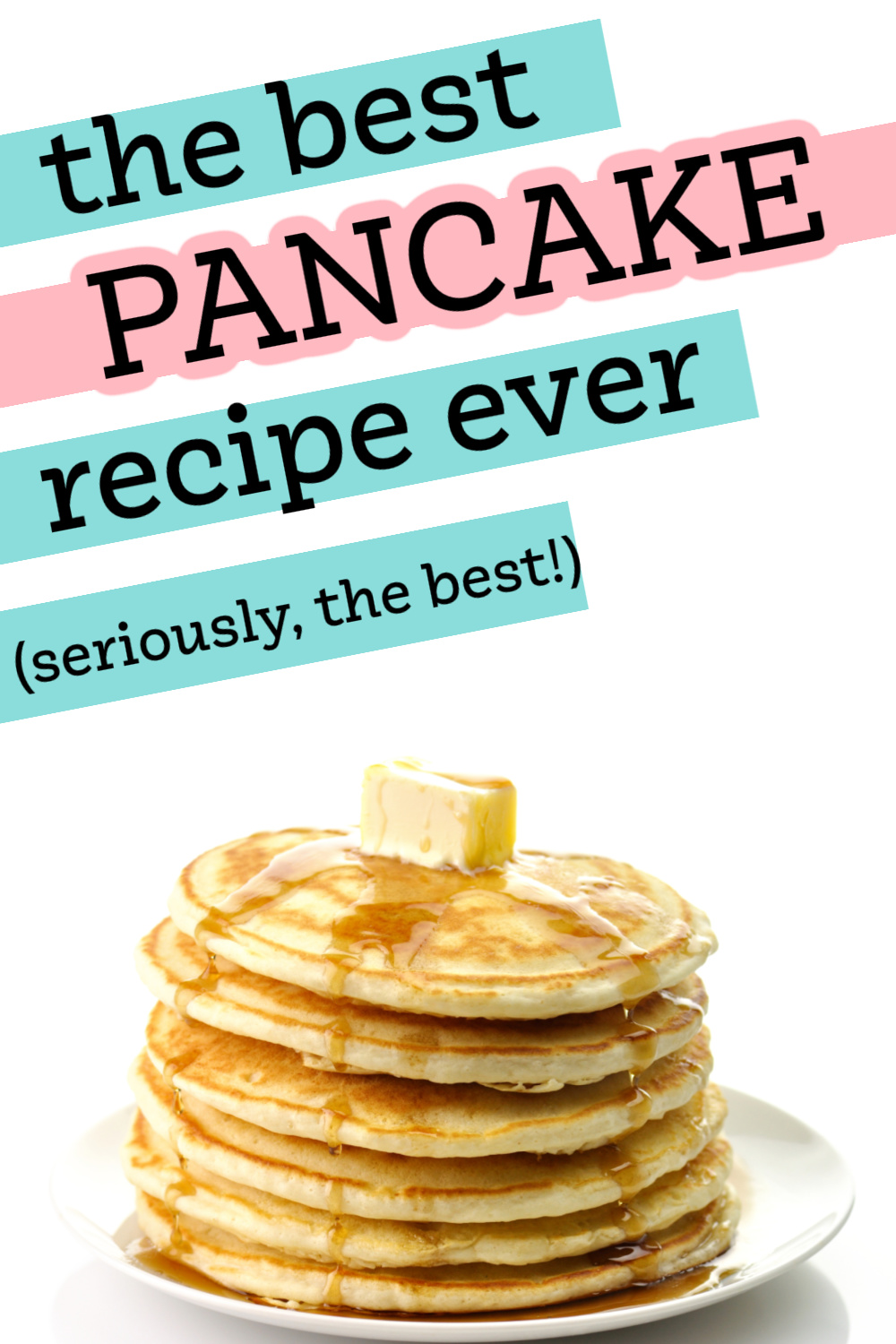 best fluffy pancakes -easy pancakes to make from scratch