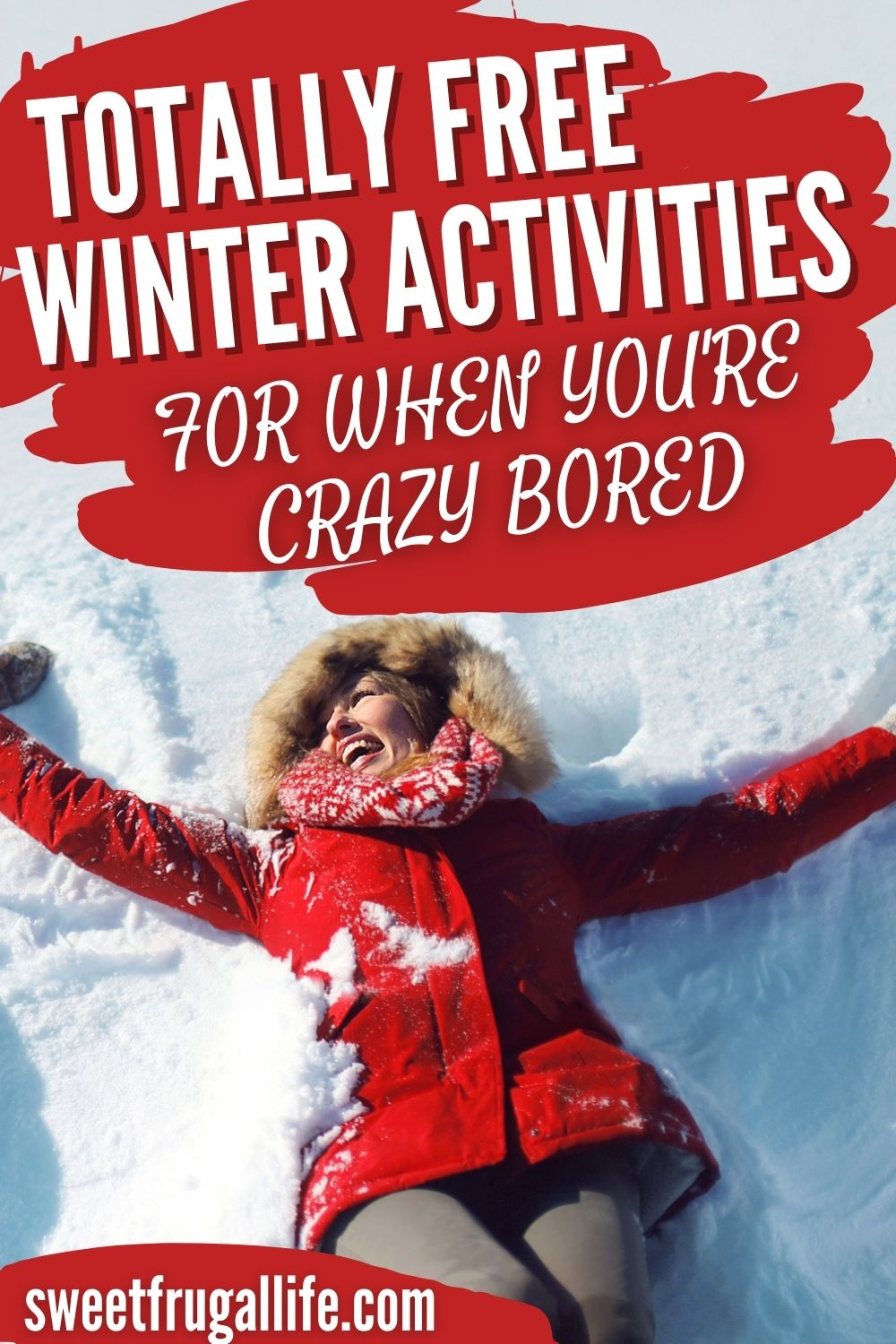 free winter activities - fun ideas for kids during winter