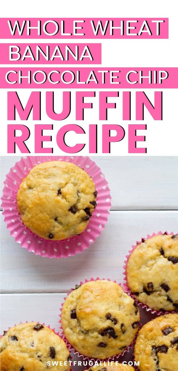 whole wheat banana muffin recipe