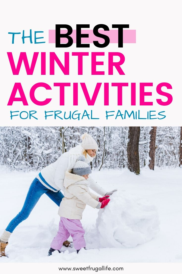 Fun in the Snow for Families -free winter activities