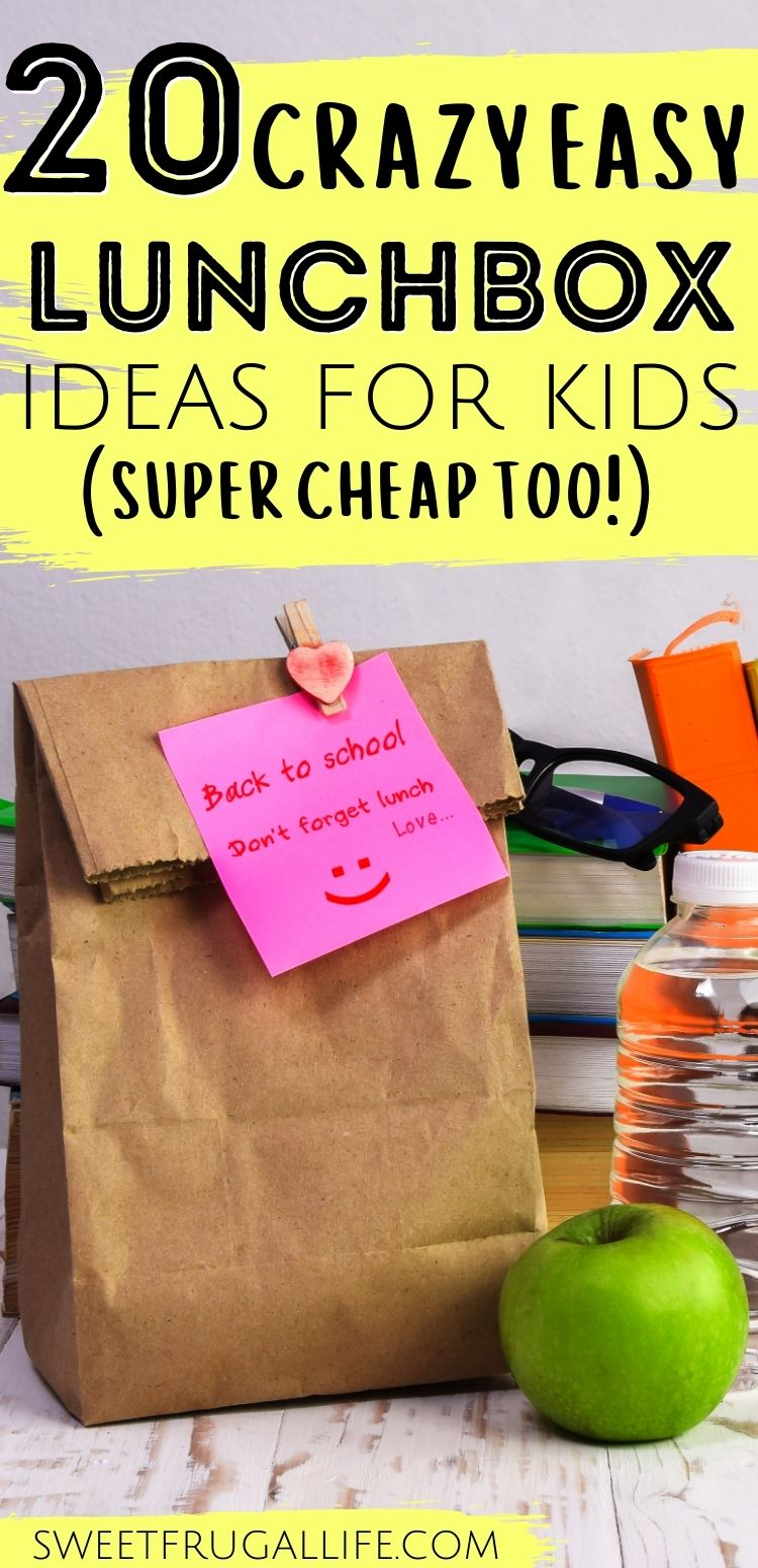 easy lunchbox ideas - what to pack in kids lunch box