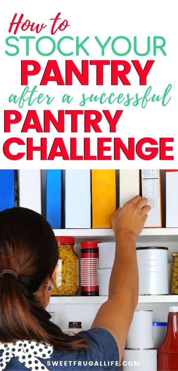 pantry challenge tips