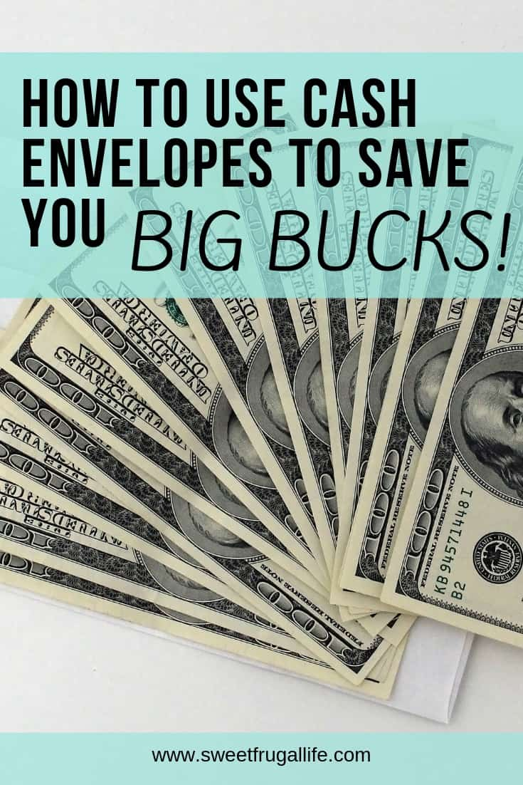 Cash Envelopes will save you big bucks