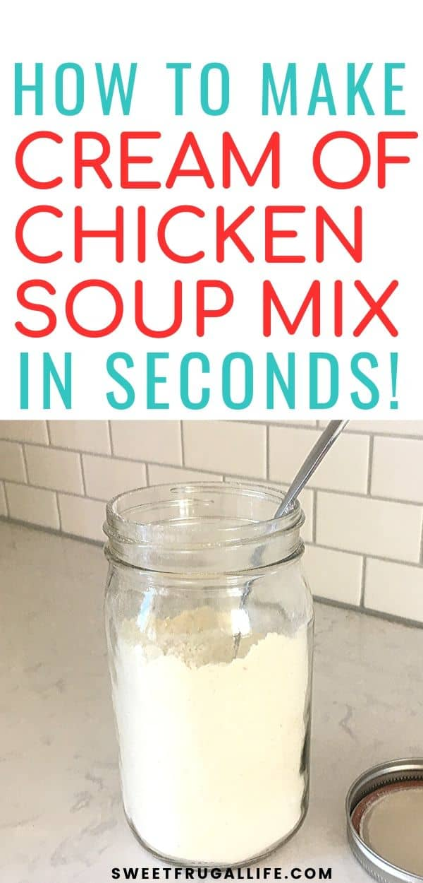 how to make cream of chicken soup mix