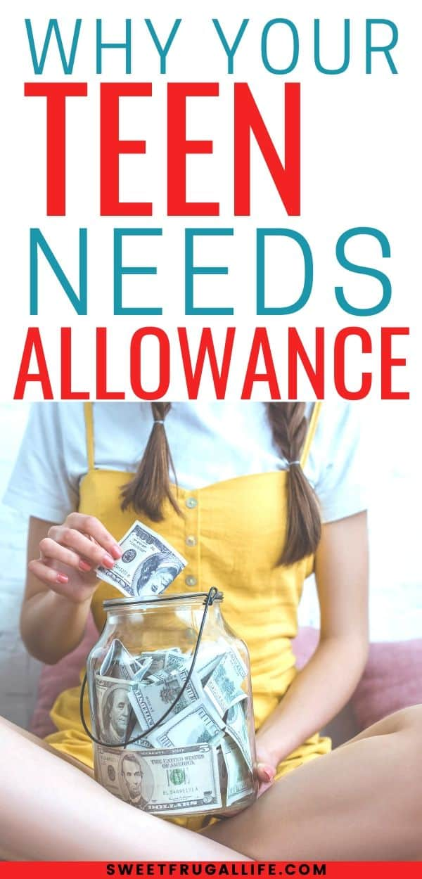 Teens and allowance - how to teach kids about money