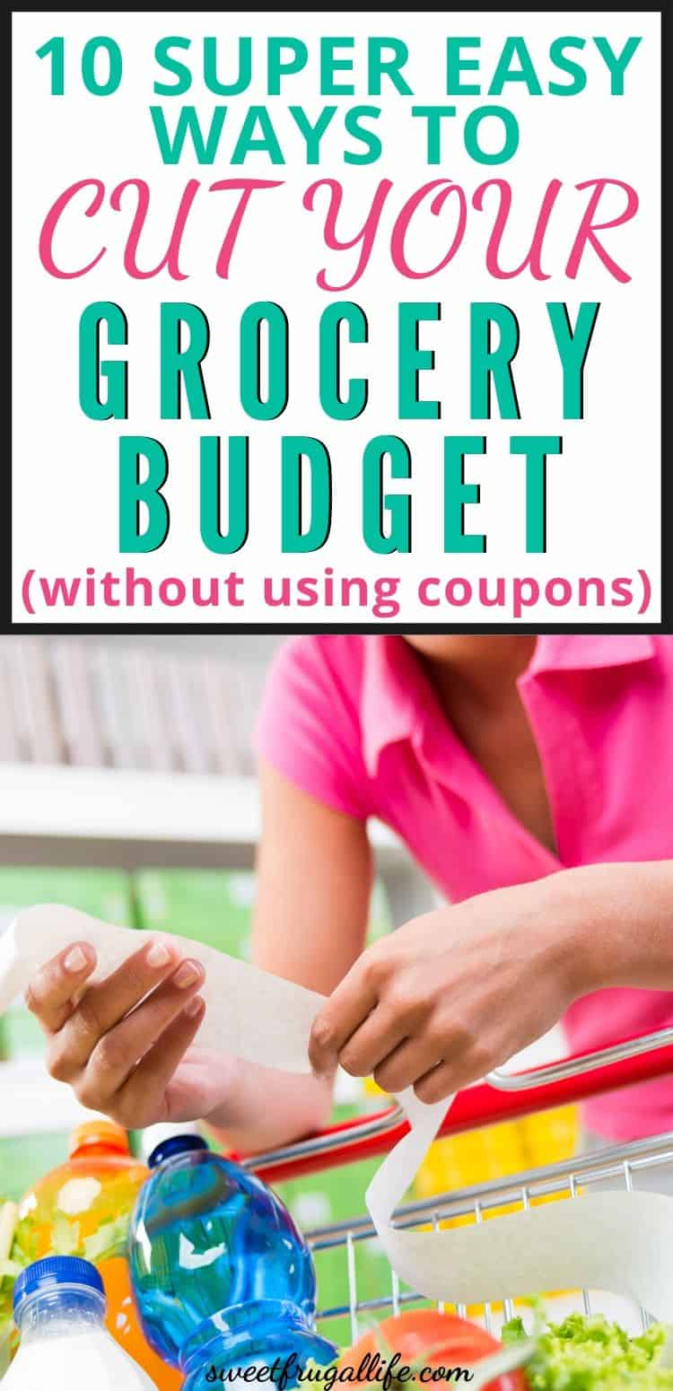 cut grocery budget tips