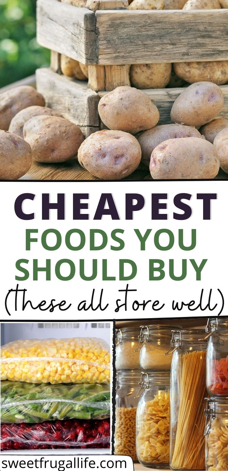cheap pantry staples - how to stock a pantry on a budget
