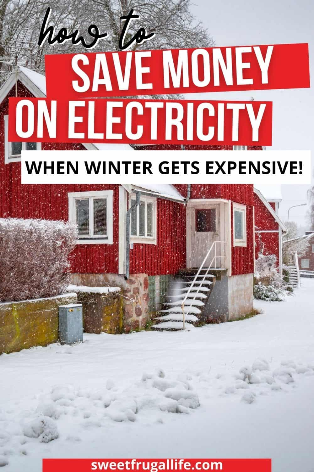 save money electricity - money saving tips in winter
