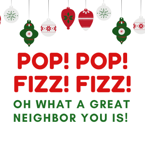 Pop Neighbor Gift Tag Printable