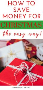 easy way to save money for christmas