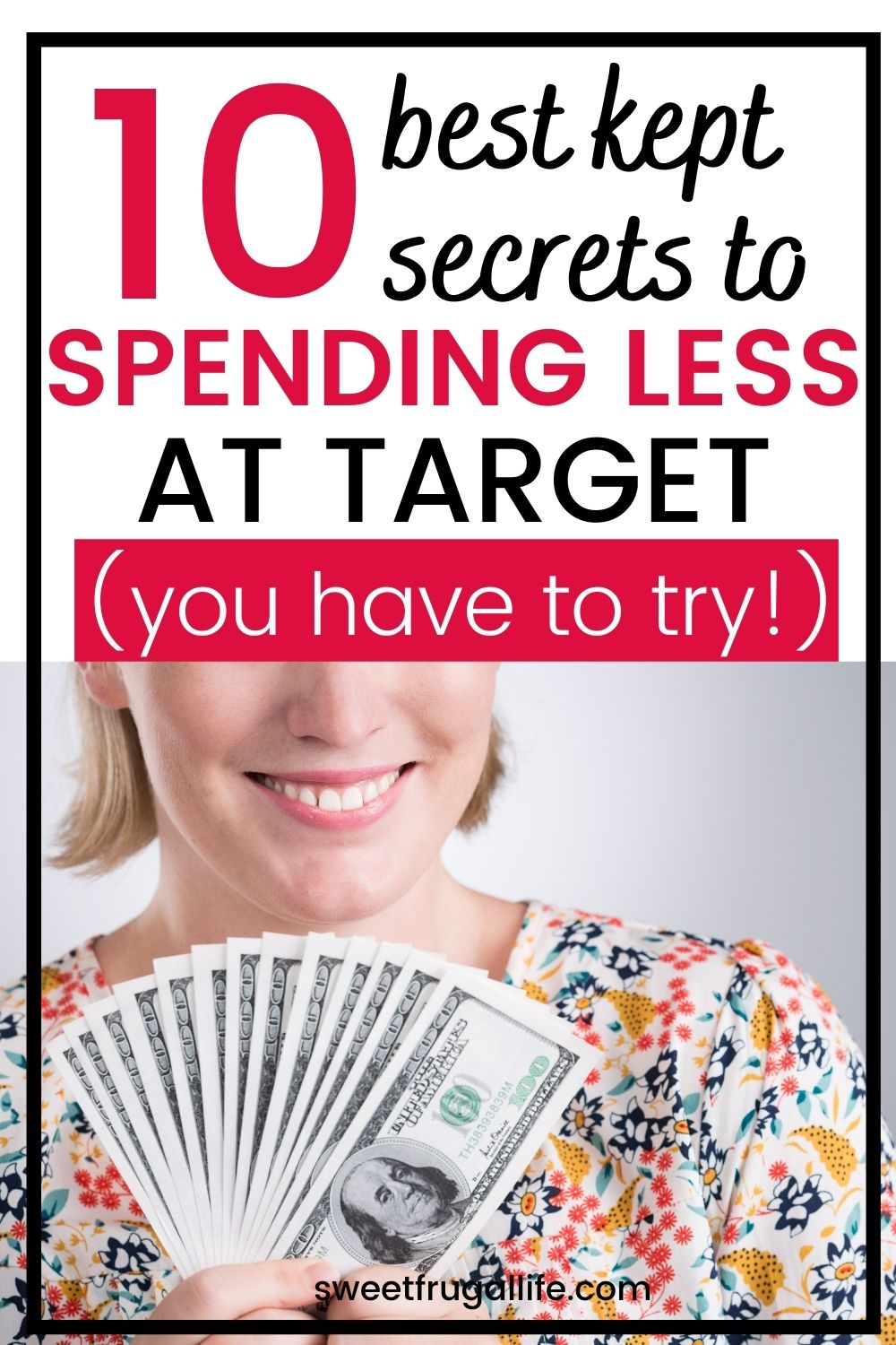 secrets to spend less at Target - Target money saving tips