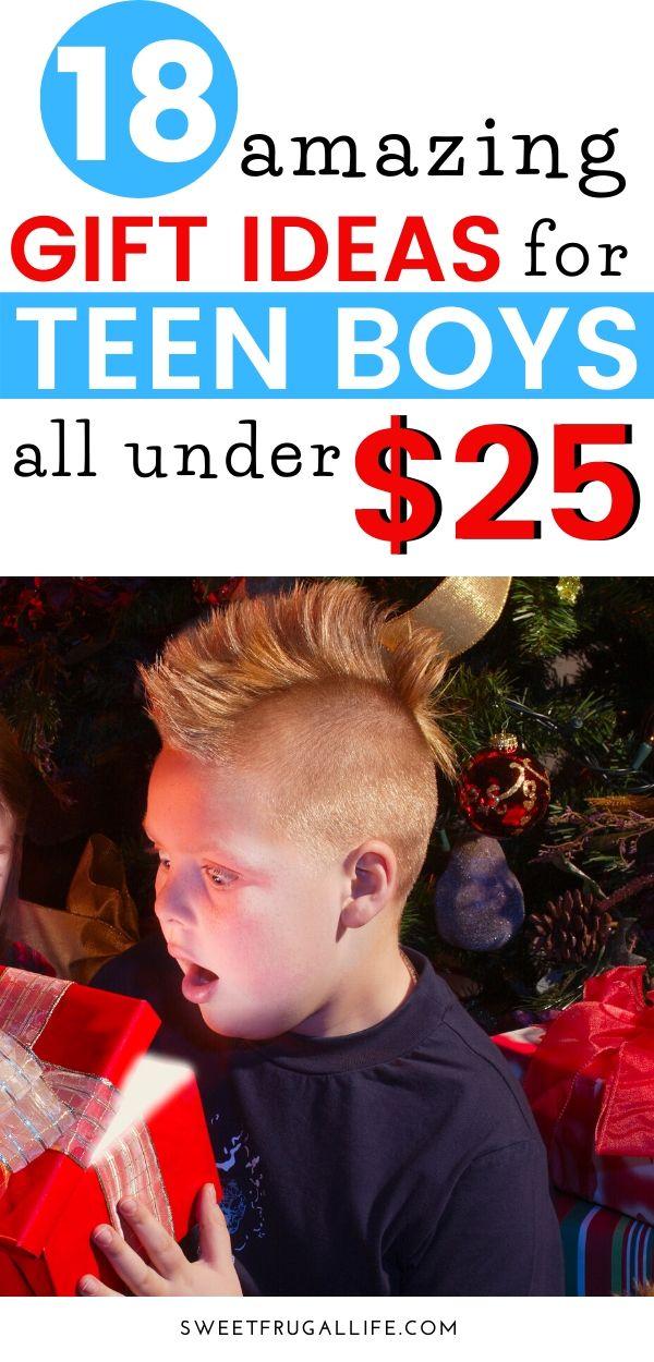 Cheap Gift Ideas for Teen Boys! boy gift ideas | boy present | boy christmas present | boy gift guide | teen gift guide | cheap gifts for teens | teenager gift guide #boygifts #christmasgiftideas #teenboy