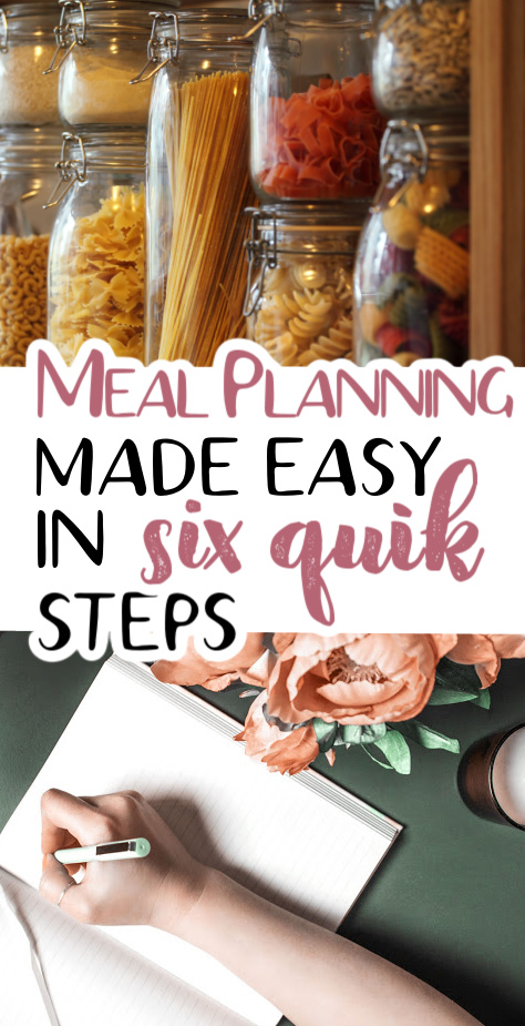 meal planning made easy - how to save money with a meal plan