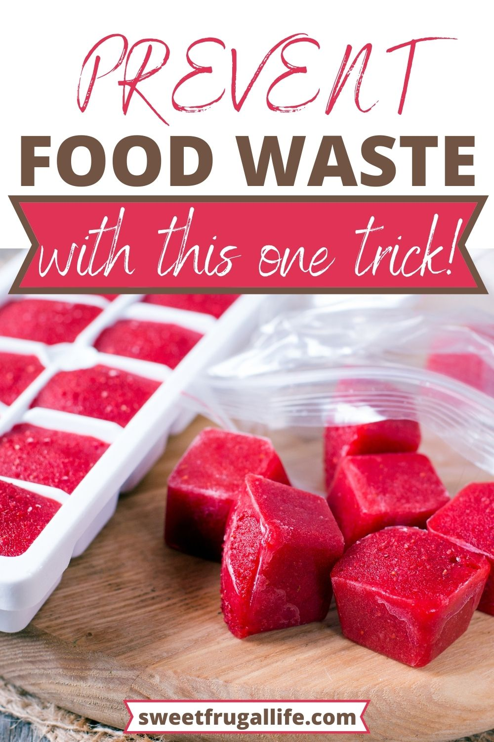 prevent food waste in the kitchen - what leftovers can you freeze