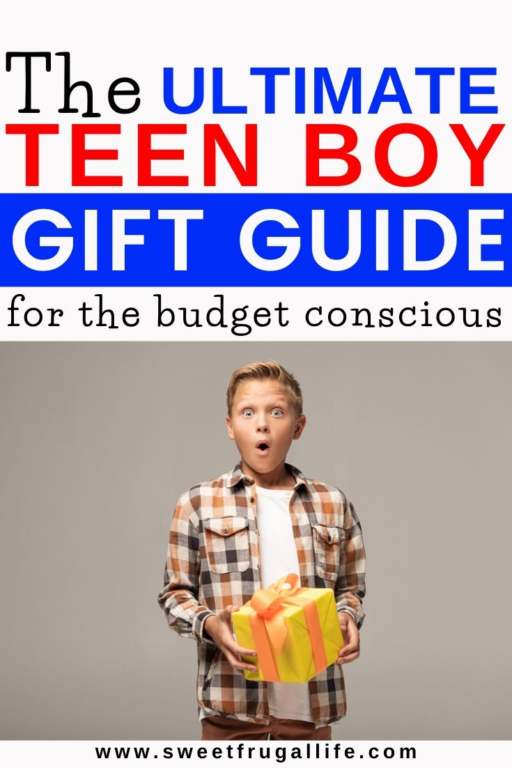 Budget Friendly Gift Ideas for Teenage Boys. | cheap gift ideas | cheap christmas gifts | teen boy gifts | teen boy gift ideas | christmas gifts | christmas gift guide for boys | #christmasgifts #christmas2019 #teenageboys #cheapgifts #frugalliving