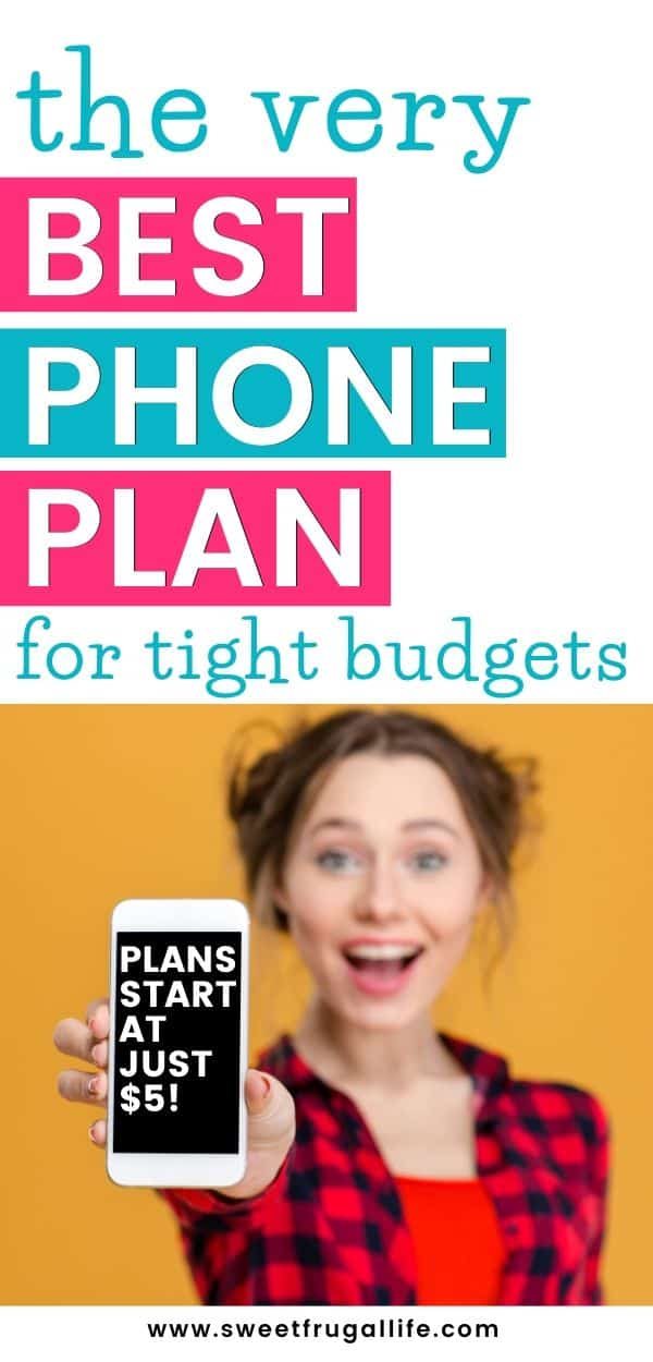 phone plan for tight budgets - save money on cell phone