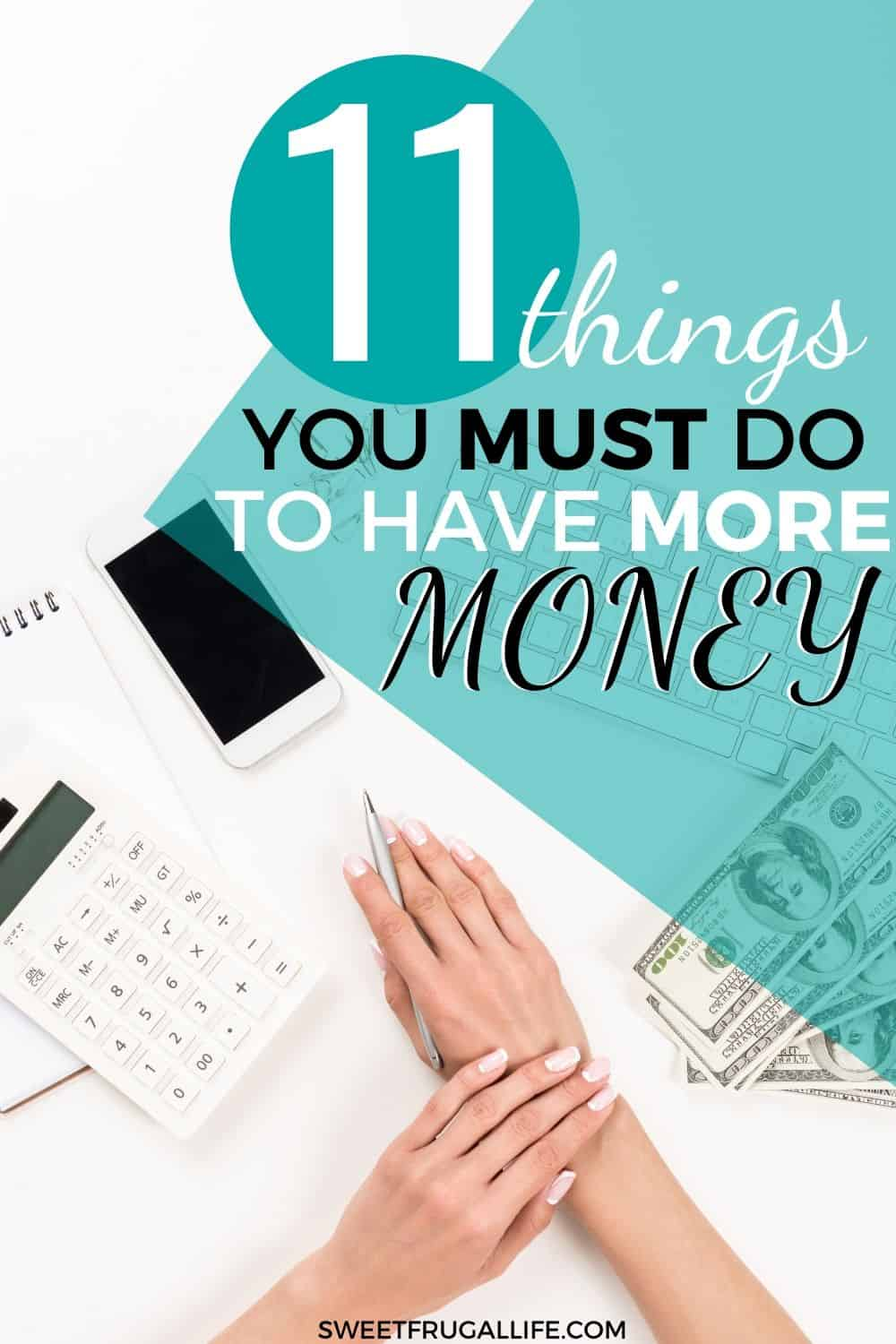what can I do to have more money each month