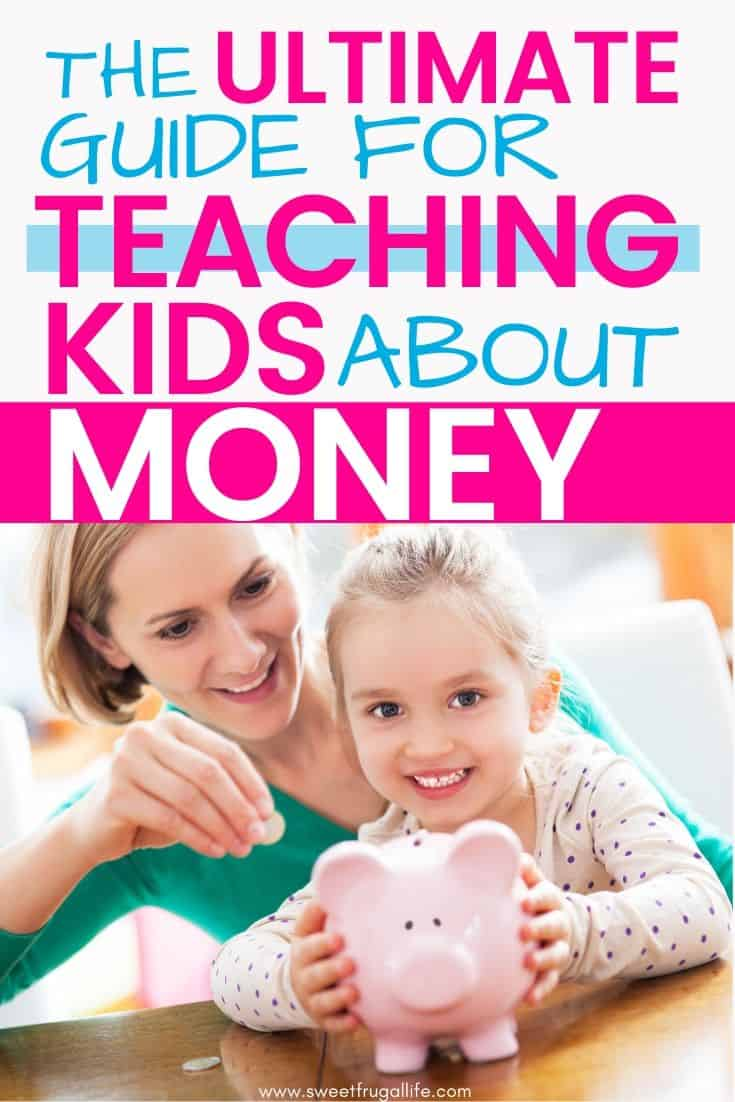 Teach Kids About Money - fun activities to teach kids about money