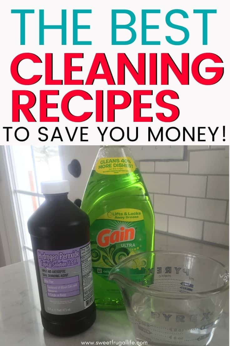 best recipes for homemade cleaners