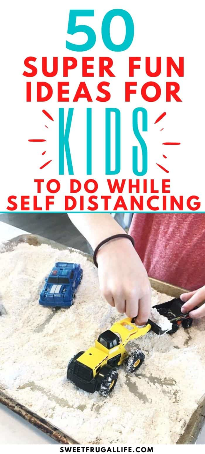 activities for kids while self distancing