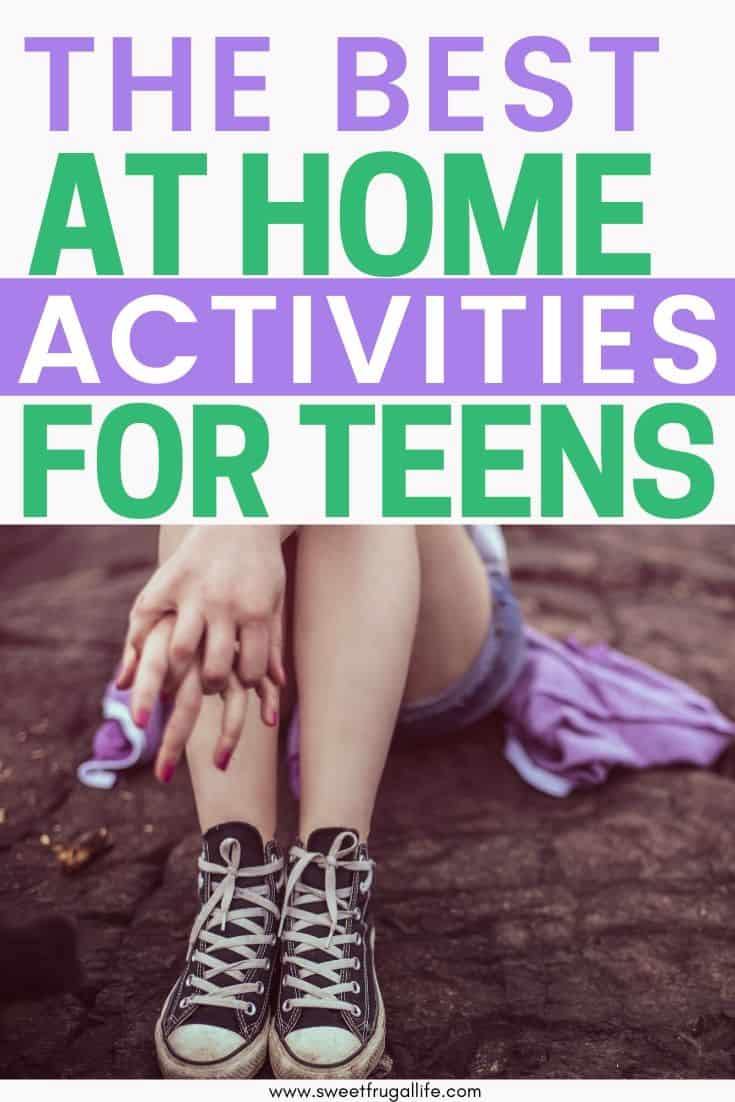 at home activities for teens