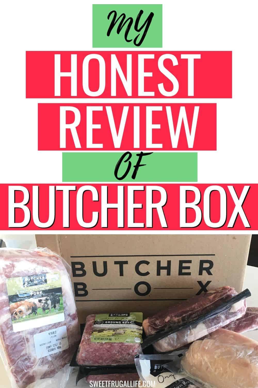honest review of butcher box