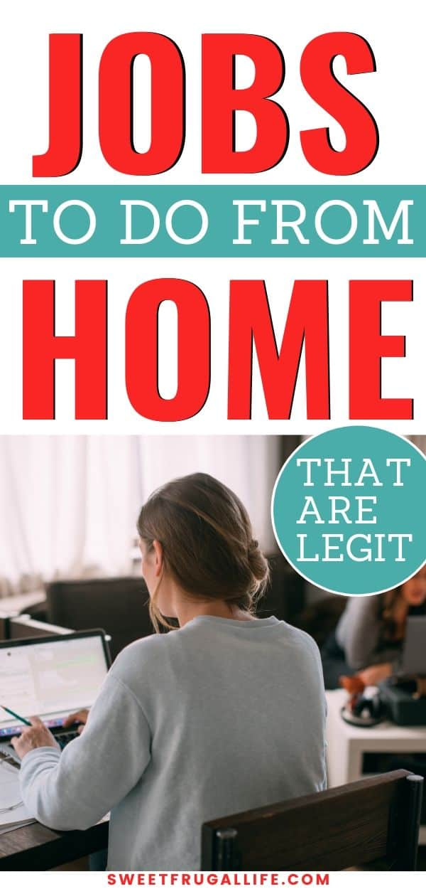 jobs to do from home